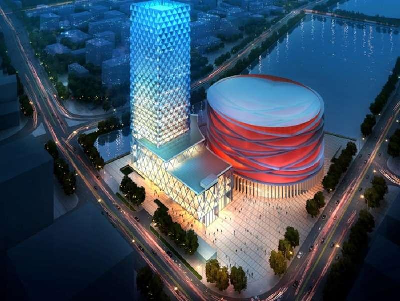 武汉中央文化区秀场及六星酒店