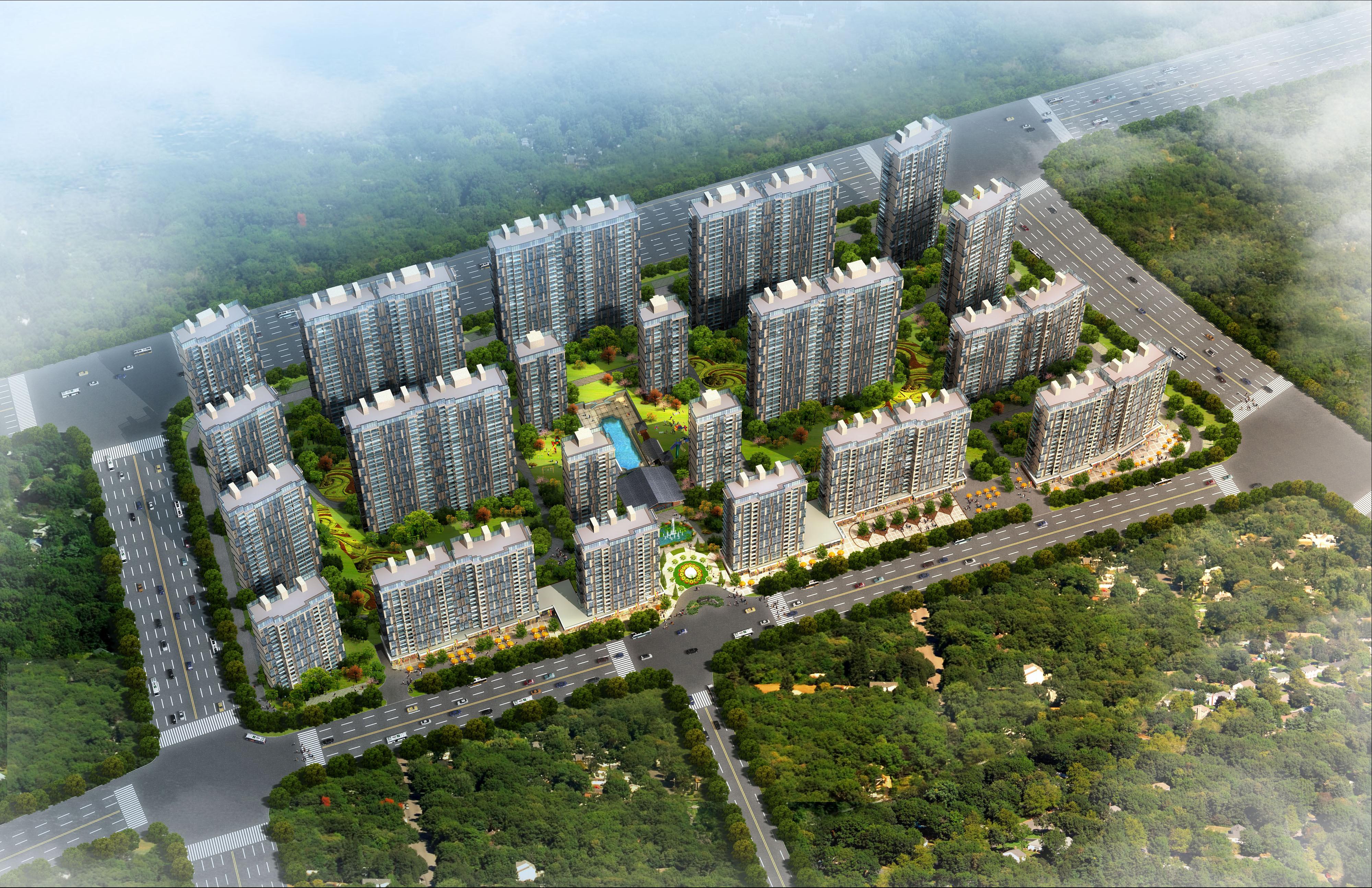南京万科金色领域项目