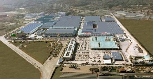 东风悦达企亚第二工厂新建涂装车间