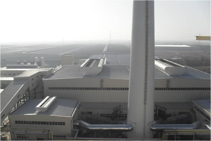 信义环保特种玻璃(芜湖)有限公司超白、光伏玻璃车间及2个原料厂房