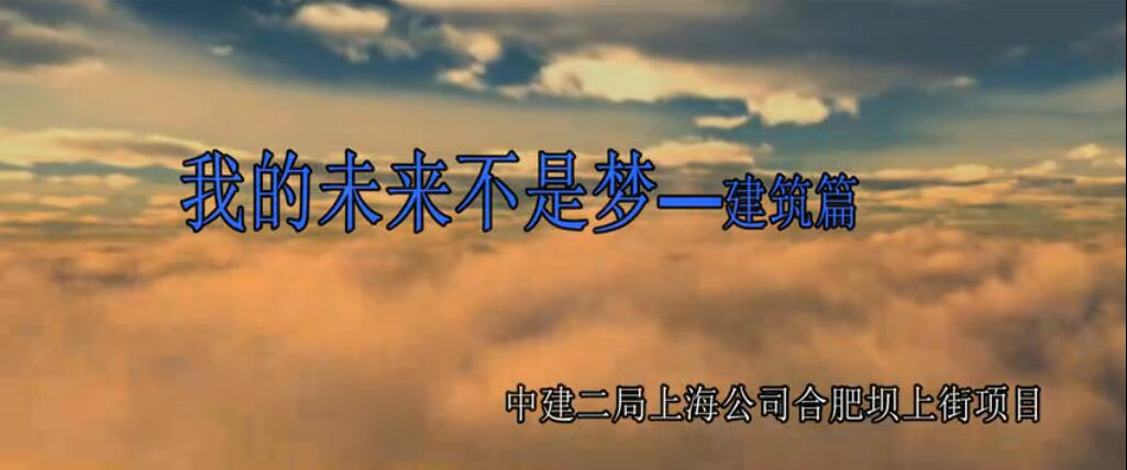 满亿娱乐上海公司合肥坝上街项目《我的未来不是梦》