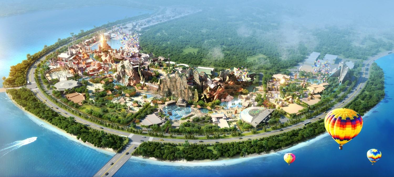 海南海花岛世界童话主题乐园项目