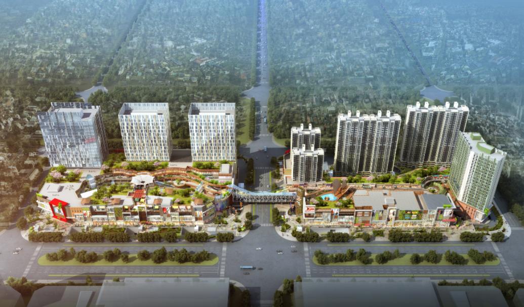 上海东渡悦来城项目