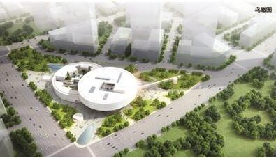 南京江北新区市民中心项目